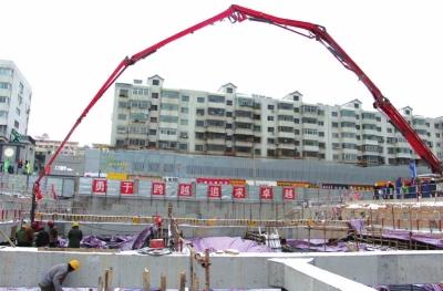 兰州轨道交通2号线一期工程首批车站实现主体结构封顶