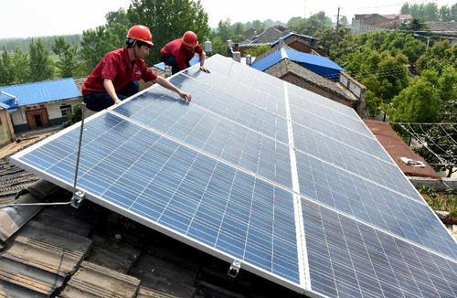 天水市武山县23.7兆瓦光伏扶贫项目正式并网发电
