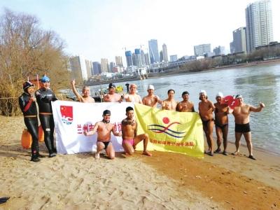 冬泳者别样的快乐——拜望意彩龙虎和冬泳协会