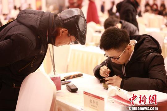 天下大门生篆刻大展系列运动上海举行 开启多项先河