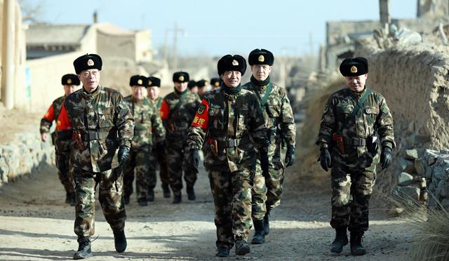 武警甘肃省总队借助传统文化激励野营拉练官兵