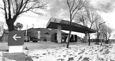 兰州榆中县北山有加油站了