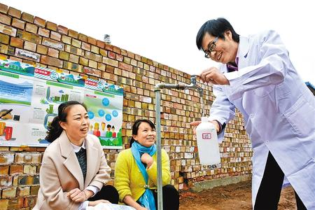 """【我们的40年】定西市渭源县:""""吃水难""""成了过去时(图)"""