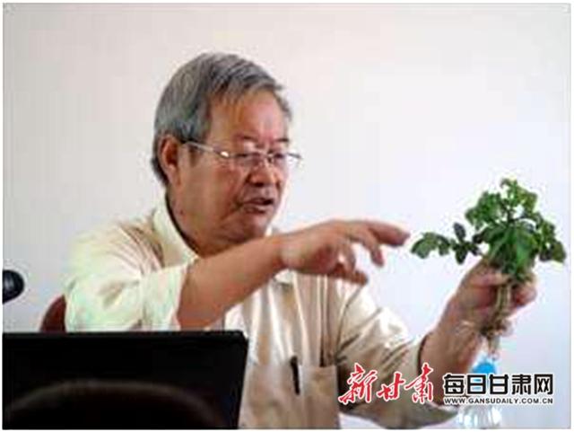 王一航:与农民一起扶犁37年 马铃薯育种世界称王