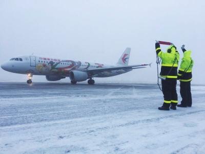 春运首日东航全部航班安全正常