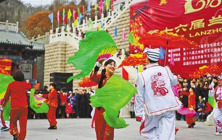 【我们的节日·春节】福照家门万事兴——兰州民间传统春节习俗(图)