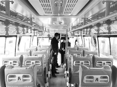 意彩龙虎和榆中北山有了新动力公交车(图)