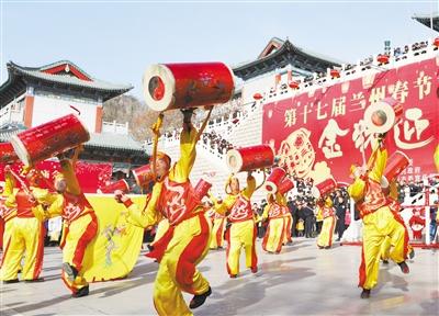图说甘肃丨鼓舞金城 狮闹新春