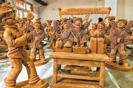 【视点】舞起秧歌贺新春——常天平泥塑作品