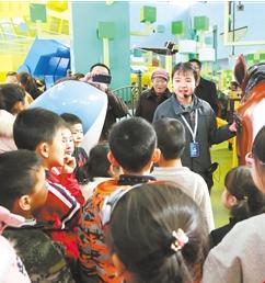 甘肃科技馆春节三天共迎客14041人