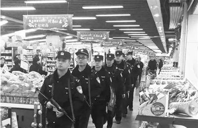 春节期间治安良好 兰州警方坚守一线保平安