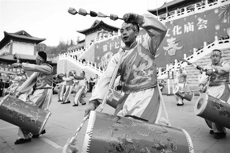 兰州市第十七届春节文化庙会在兰州金城关、水车园等地举行