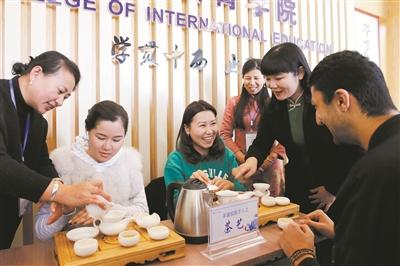 留学生过春节