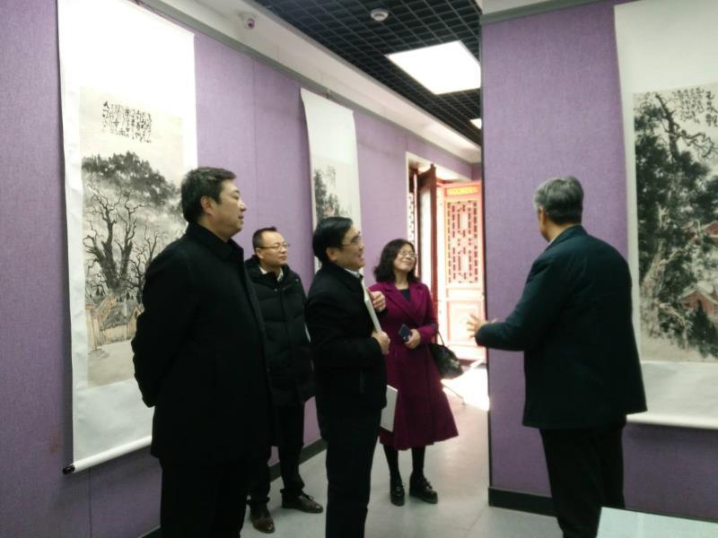 天水书画院第十四届年展在天水美术馆隆重开展