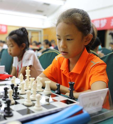 甘肃省首届智运会国际象棋比赛收兵