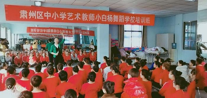 酒泉市肃州区中小学艺术教师培训班开班