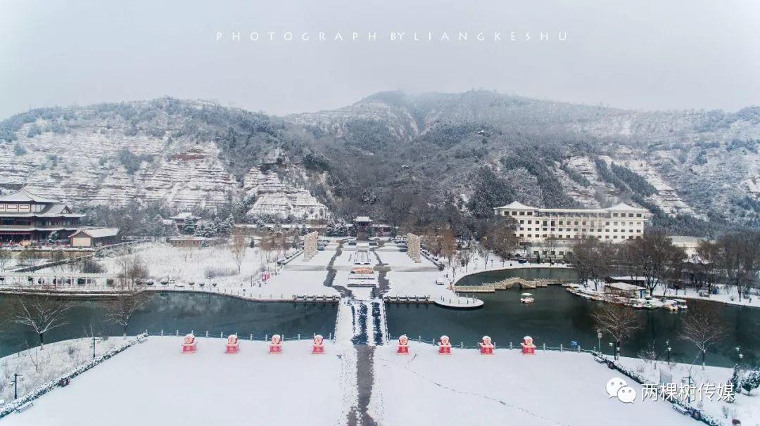 当龙泉寺遇见春雪