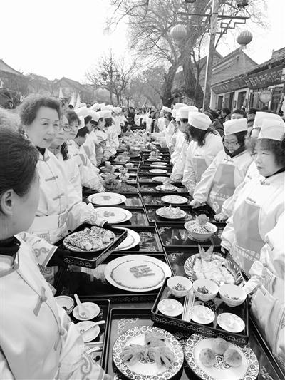 天水宓羲庙己亥(2019)年春祭宓羲运动之迎献饭典礼昨举行