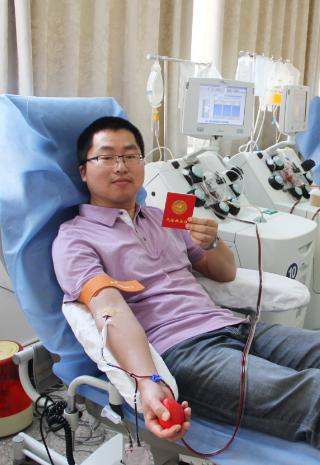"""甘肃省血液中心举办""""元宵献血助人 让爱成就团圆""""献血活动"""