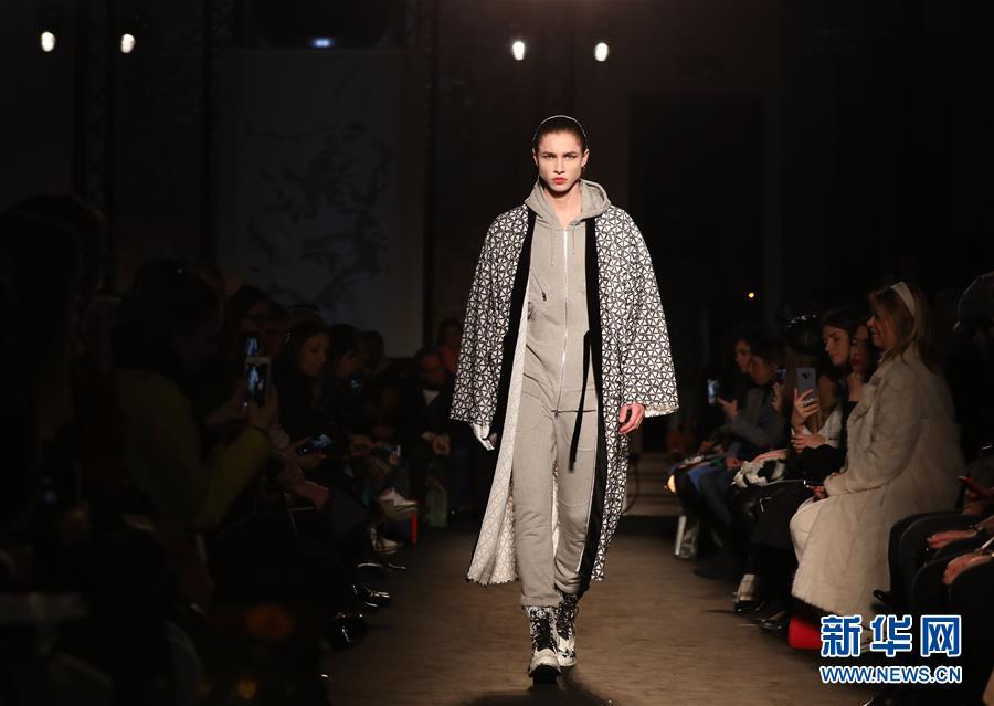 (国际)(4)米兰时装周:Atsushi Nakashima品牌发布2019秋冬新品