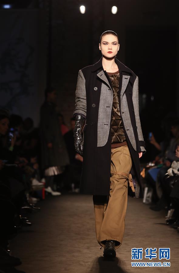 (国际)(7)米兰时装周:Atsushi Nakashima品牌发布2019秋冬新品