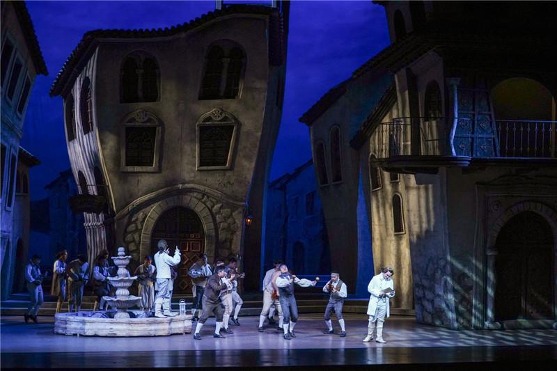 国家大剧院制作歌剧《塞维利亚理发师》迎第四轮热演