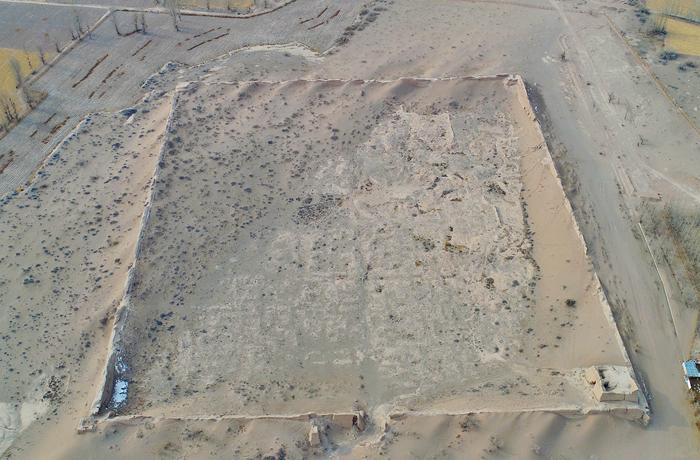 【飞阅甘肃】张掖黑水国遗址:探寻黄沙掩藏下的奥秘
