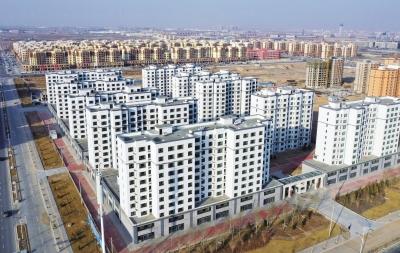 西北最大装配式钢结构住宅楼在新区落成