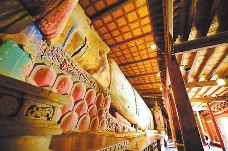 【印象陇原】丝绸之路上的千年古刹 张掖大佛寺