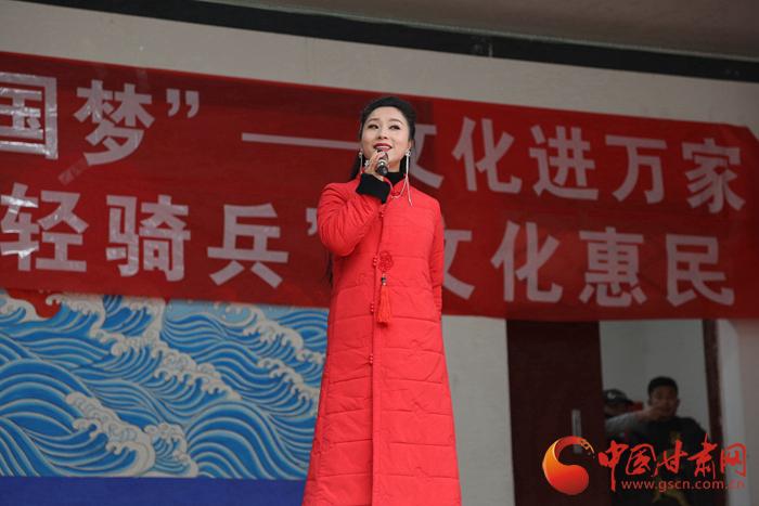 2019年陇原红色文艺轻骑兵惠民演出在陇南宕昌县脚力铺村上演