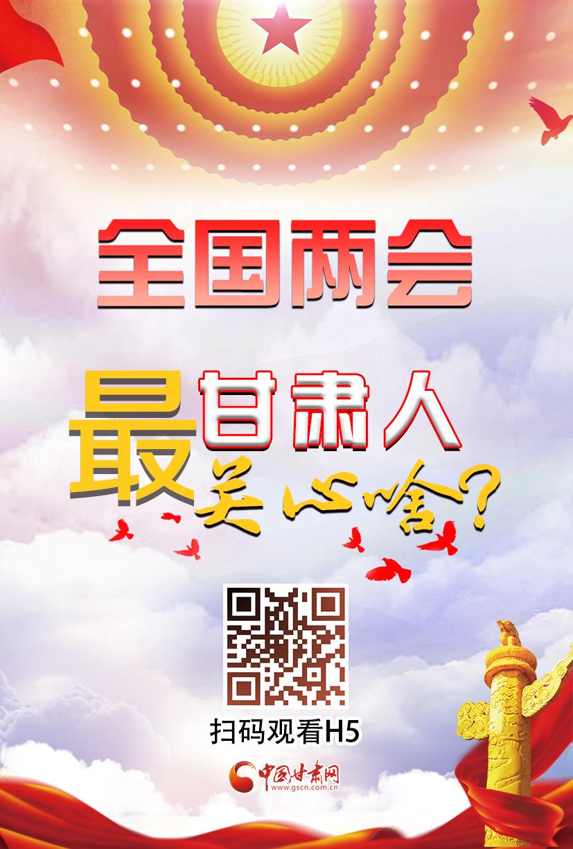 H5|今年全国两会,甘肃人最关心啥?