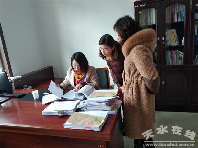 天水市文旅局对清水县博物馆免费开放工作进行绩效考评(图)