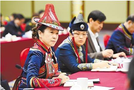 住甘全国政协委员围绕关心的问题协商建言(图)