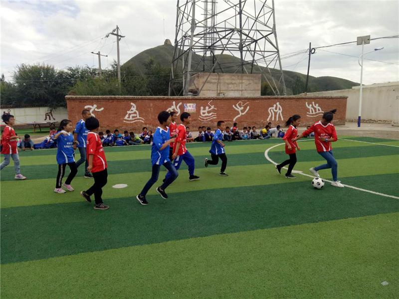 无限极快乐足球公益捐赠活动