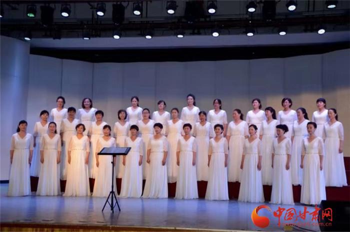 兰州市退役军官林之旅合唱团音乐会在兰举办