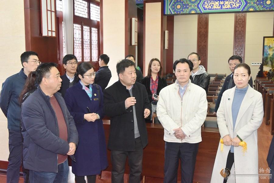 中央文明办领导调研天水市博物馆开展志愿服务工作