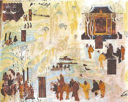 汉简中的丝绸之路(图)