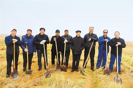 【爱国情 奋斗者】武威古浪八步沙:大漠中的绿色传承(图)