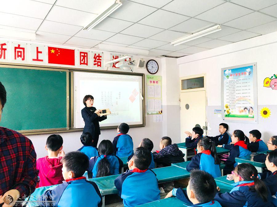 """天水民俗博物馆""""弘开学堂""""走进建二小学"""