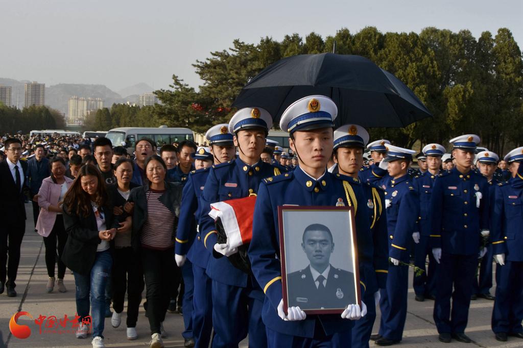 省城兰州举行四川木里森林火灾扑救中英勇牺牲的甘肃籍烈士悼念活动