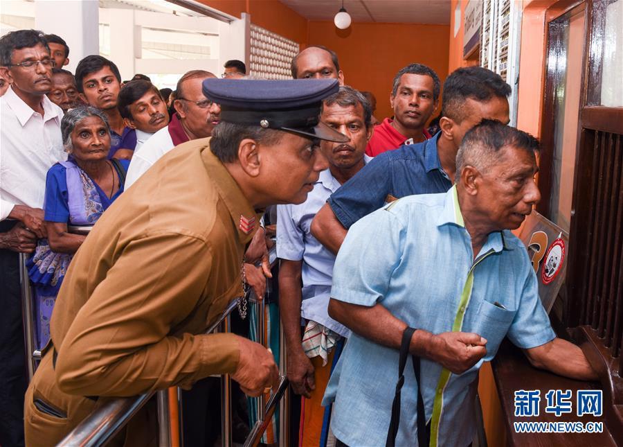 """(国际·""""一带一路""""高峰论坛·图文互动)(6)中企承建斯里兰卡南部铁路项目举行通车仪式"""