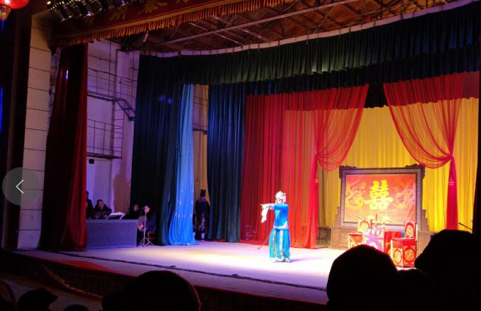 2月9日甘肃秦腔艺术剧院在甘肃省白银市靖远县三滩镇朝阳村惠民演出视频