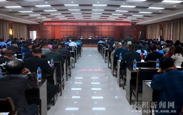 麦积区召开全区非公有制经济组织和社会组织党建工作会议
