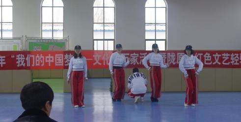 1月30日甘肃省话剧院武警酒泉支队执勤一大队金塔中队文艺演出