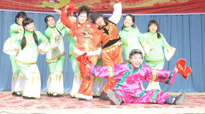 1月24日甘肃省话剧院走进景泰县惠民演出