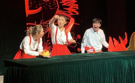 1月19日甘肃省话剧院兰州市城关区甘家巷社区文艺演出