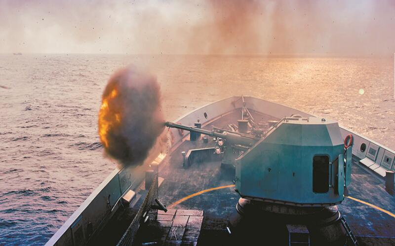 海军某驱逐舰支队大强度实战化训练