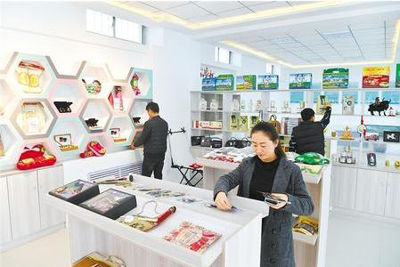 【借助电商平台 闯出脱贫新路】张掖肃南县推动电子商务健康快速发展