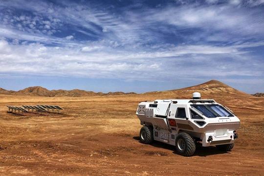 """航天科技与趣味艺术的碰撞 来金昌开启一场""""火星""""之旅"""