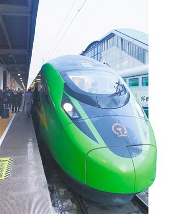 【聚焦】兰渝 中川铁路时速160公里动车组运行100天